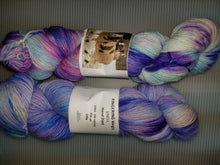 Load image into Gallery viewer, Fingering Weight Superfine Single Superwash Merino Yarn - Light Blue Hydrangea