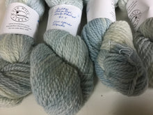 Load image into Gallery viewer, Bulky Weight Romney Yarn - Pale Indigo - Alum Mordant