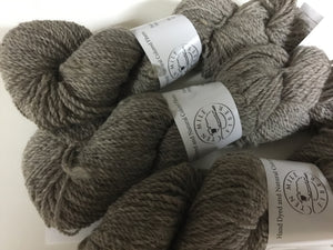 Bulky Weight Shetland Yarn - Natural Colored Gray