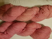 Load image into Gallery viewer, Fingering Weight Superfine Single Superwash Merino Yarn - Naturally Dyed Pale Pink