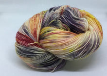Load image into Gallery viewer, Fingering Weight Superfine Single Superwash Merino Yarn - Covid-19