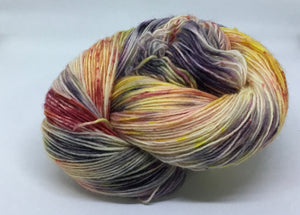 Fingering Weight Superfine Single Superwash Merino Yarn - Covid-19