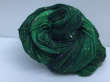 Load image into Gallery viewer, Sock Weight Superwash Merino / Donegal Nep Yarn - St. Brigid