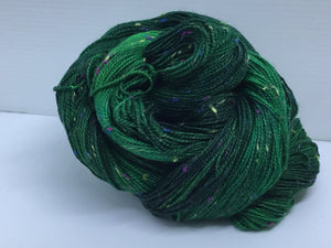 Sock Weight Superwash Merino / Donegal Nep Yarn - St. Brigid