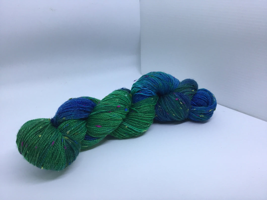 Sock Weight Superwash Merino / Donegal Nep Yarn - Stuart