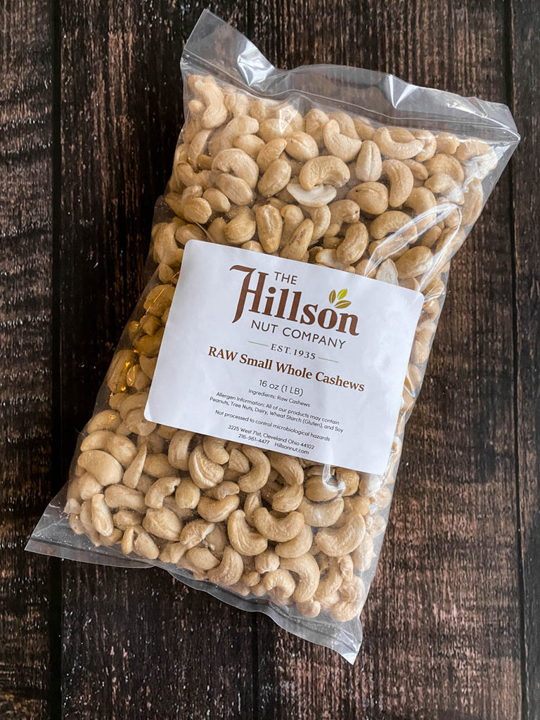 Cashews: Small Wholes RAW - Hillson Nut Company