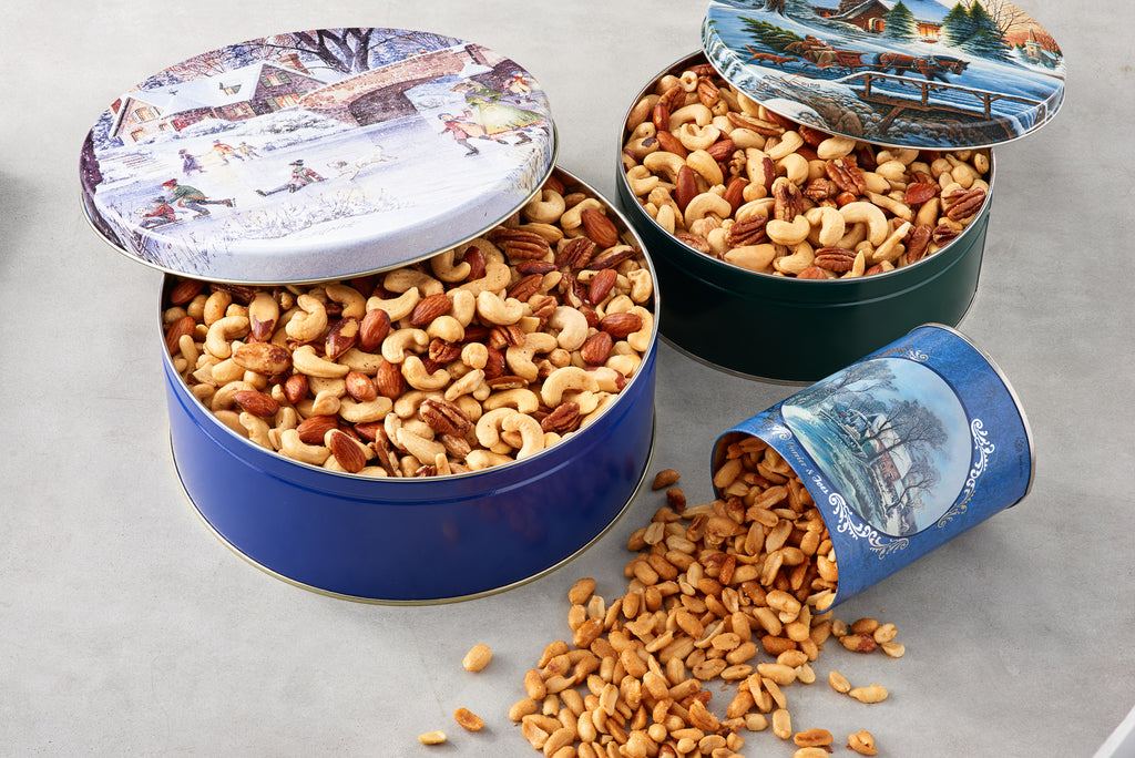 Holiday Tin - Hillson Nut Company