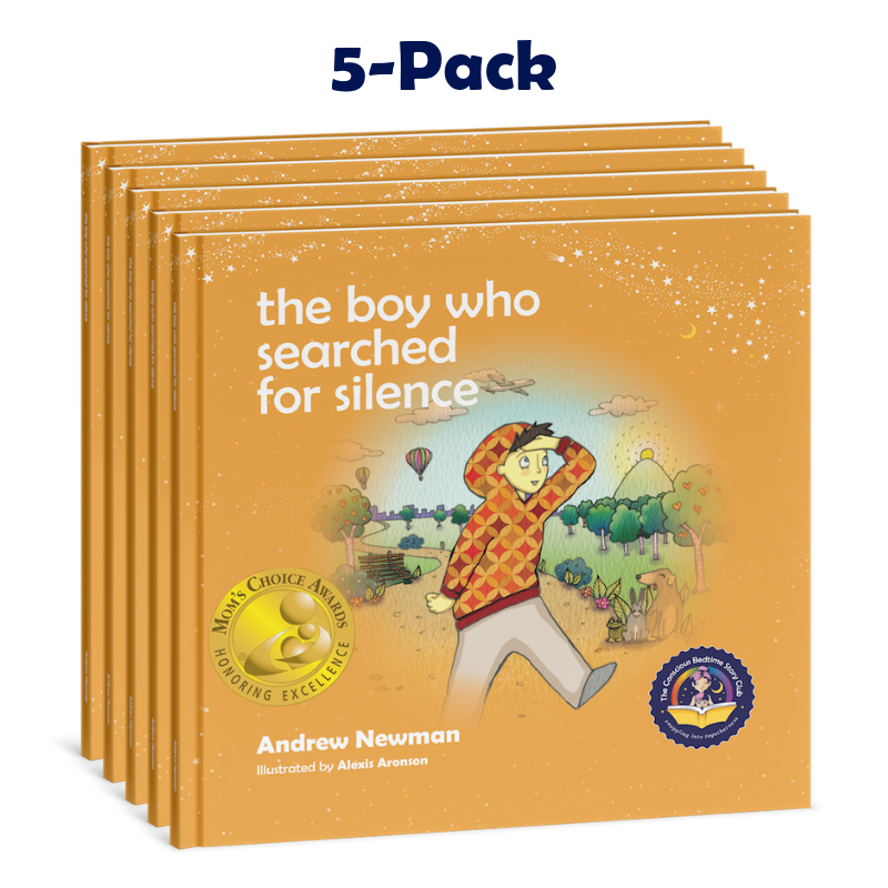 5-Pack: THE BOY WHO SEARCHED FOR SILENCE