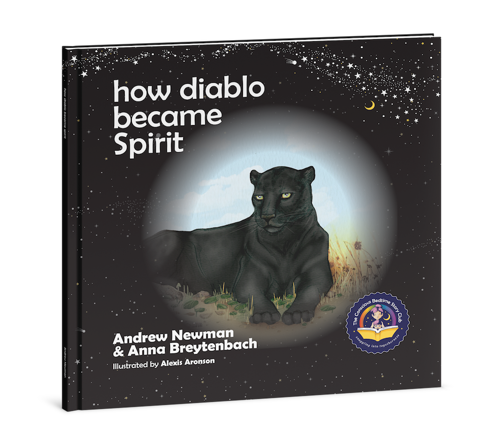 HOW DIABLO BECAME SPIRIT, Showing children how to connect with animals and respect all living beings.