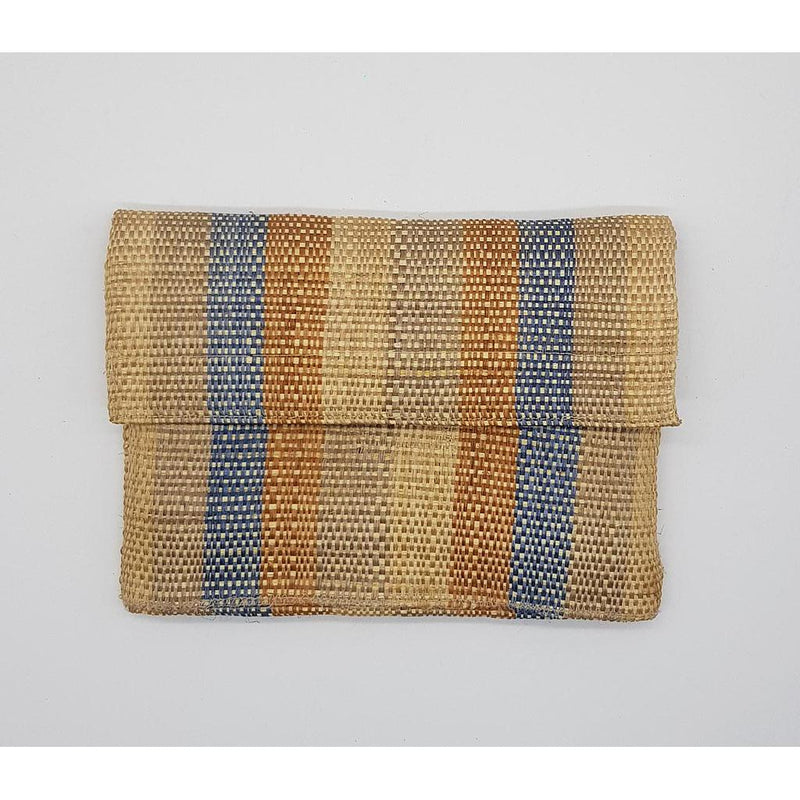 CLUTCH DE HENEQUÉN COLOR GRIS