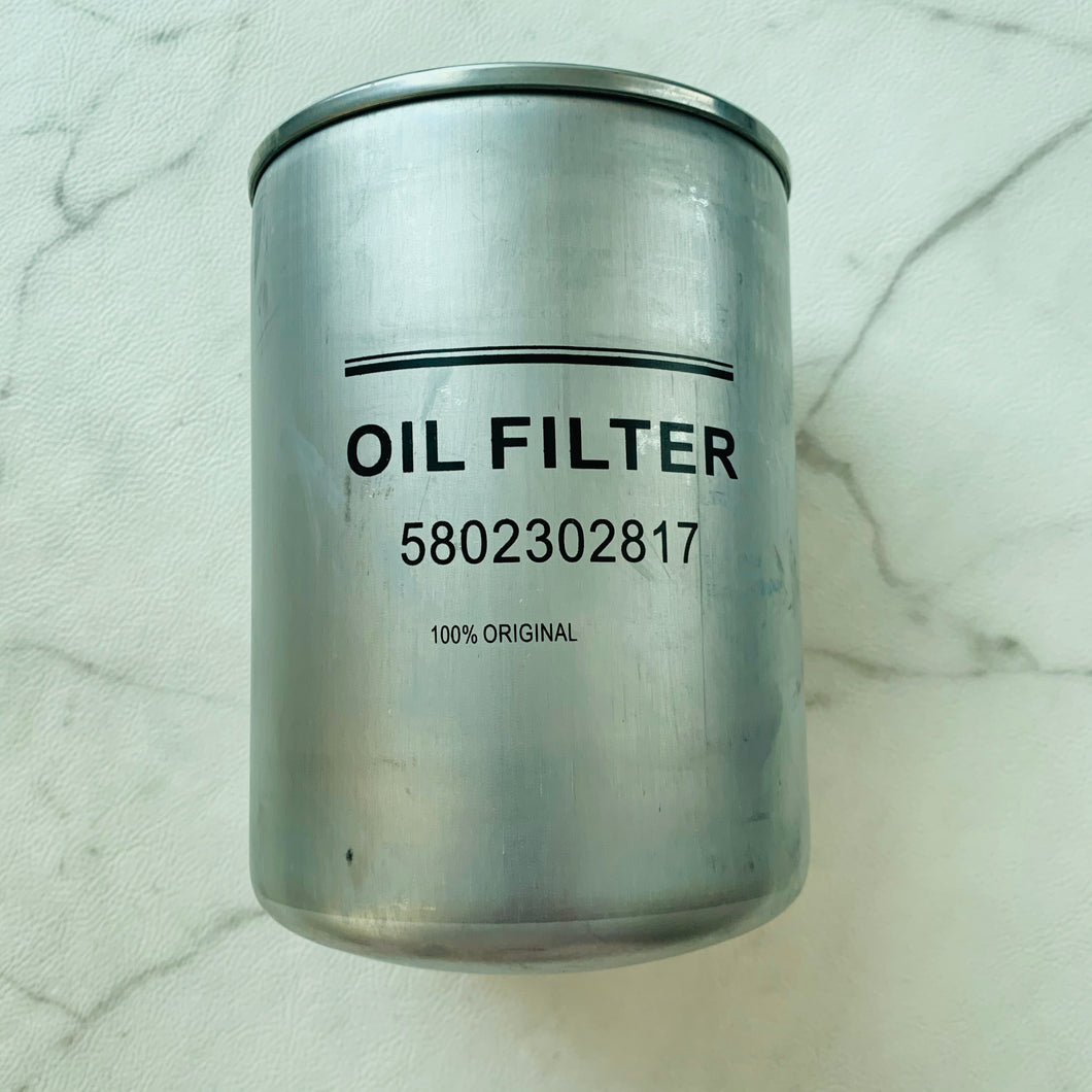 oil filter 5802302817 for truck hongyan cursor 9