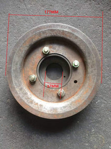 crankshaft pulley 2.8 for iveco daily 4X4