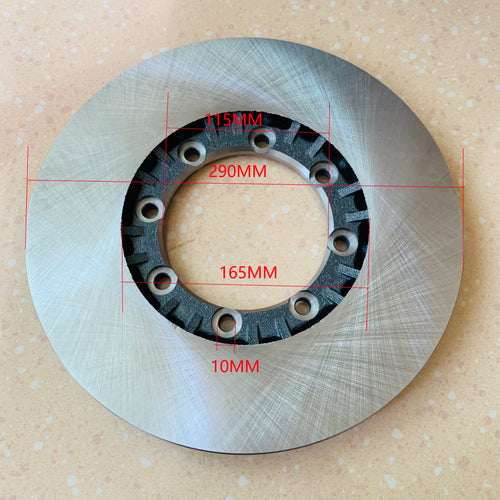front brake disc 1906300 60173797 for iveco daily 4x4 - suonama