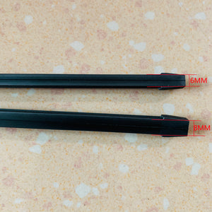"1pcs 8mm/6mm Car Windscreen Wiper Blade Insert Rubber Strip (Refill) Soft 24""26""28"" Accessories"
