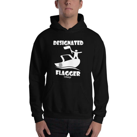 DESIGNATED FLAGGER!™ BOAT HOODIE - The Wakeboat Life