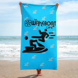 Kung-Fu YOU! Jetski ™ Towel- Blue