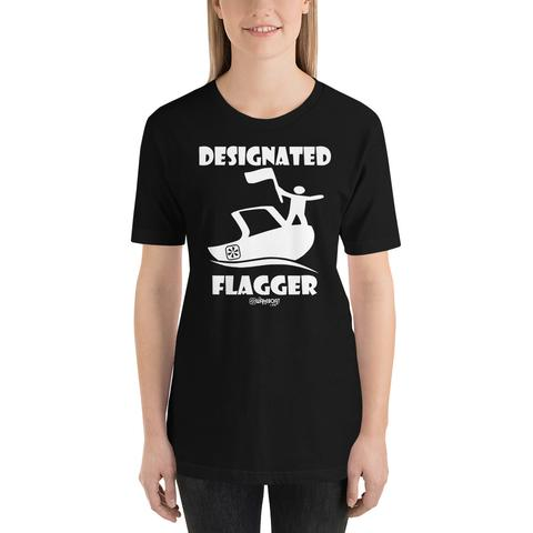 Designated Flagger™ Wakesurf Shirt- Unisex - The Wakeboat Life