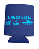 Boating Is Essential Can Koozies
