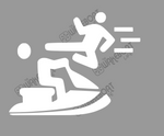 Kung-Fu YOU! Jetski Decal