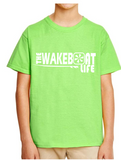 "The Wakeboat Life ""RIDE"" Wakesurf Shirt for Youth"