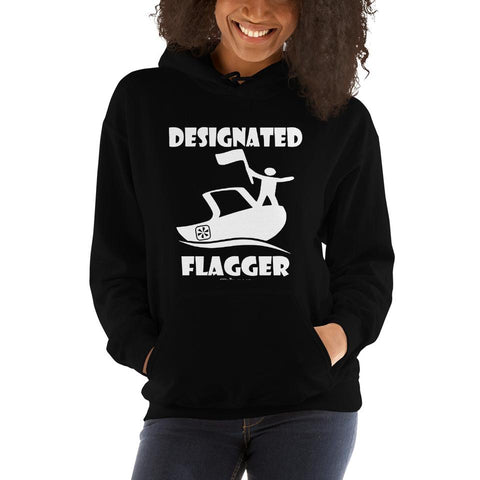 WOMENS DESIGNATED FLAGGER™ HOODIE - The Wakeboat Life