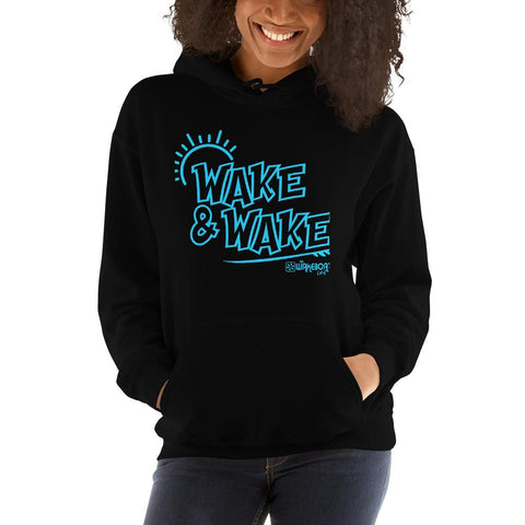WAKE & WAKE™ SURF HOODIE - The Wakeboat Life