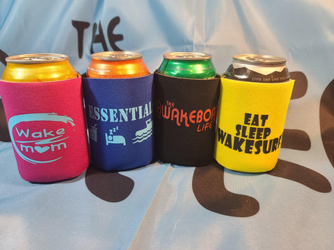 4-pack  Wake Koozie Combo- Party Kit