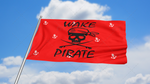 Wake Pirate Flag: Red