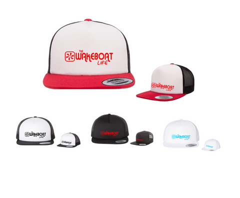 The Wakeboat Life Prop Trucker Hat