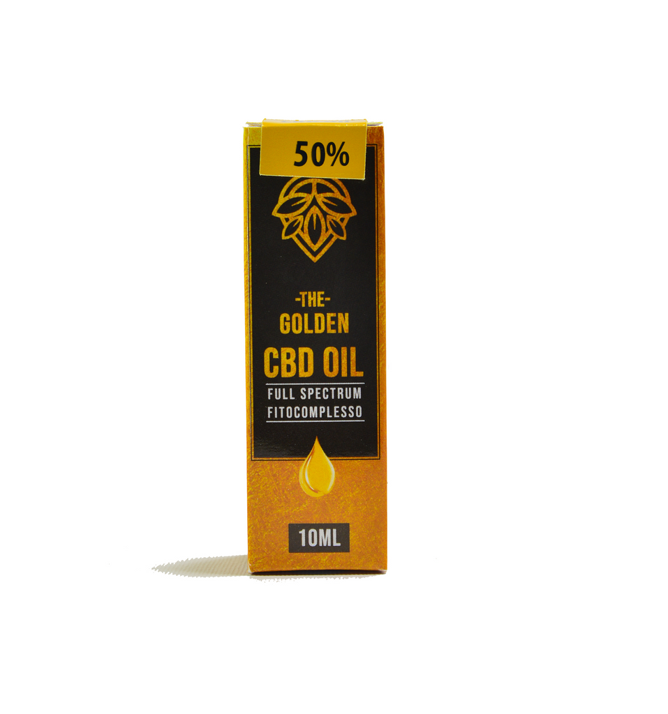 CBD Golden Oil 50% | 10ml weedeliverys.