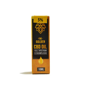 CBD Golden Oil 5% | 10ml weedeliverys.