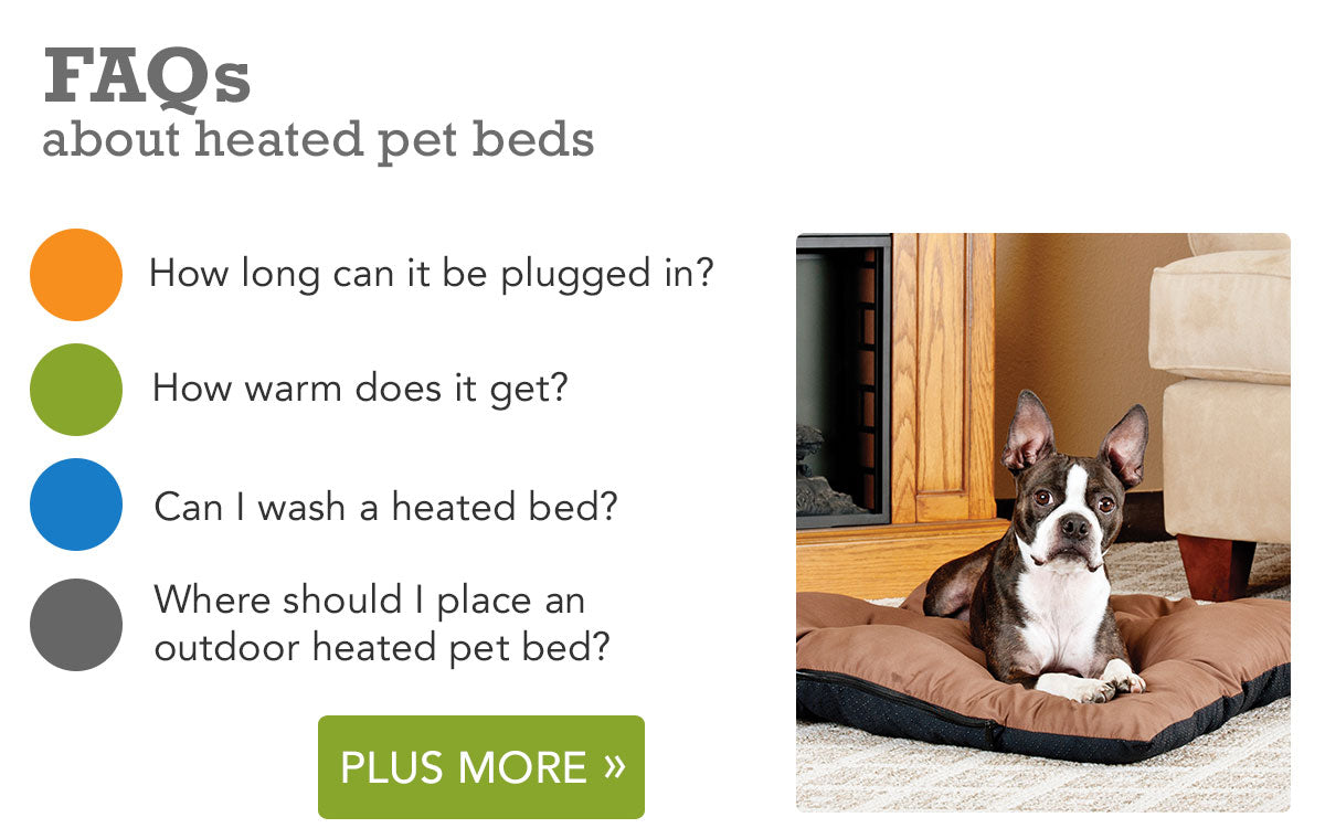 K&H Heated Pet Bed FAQs