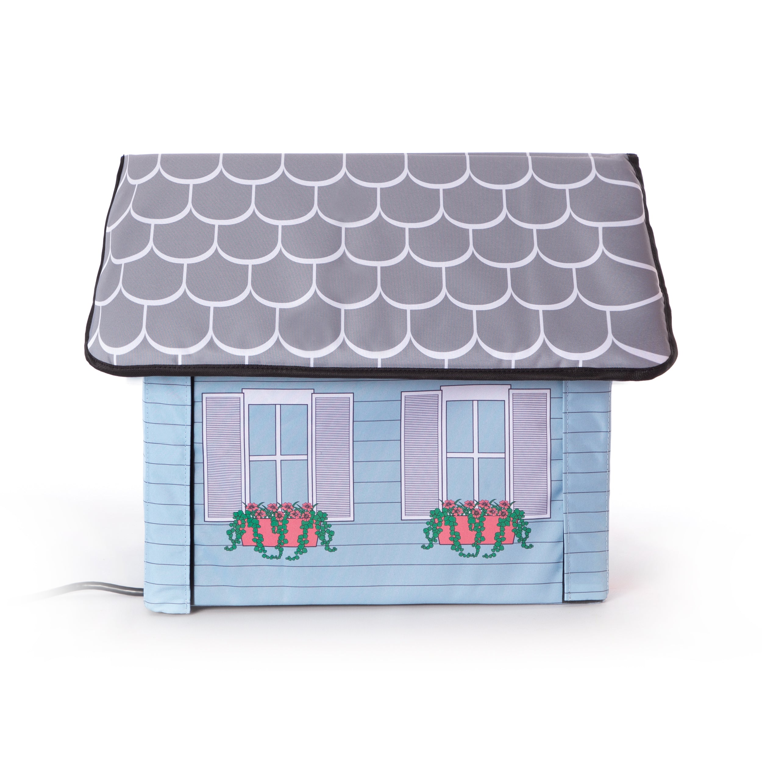 Outdoor Kitty House - Cottage Design - Side 1