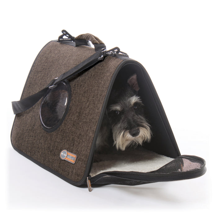 Lookout Pet Carrier Chocolate