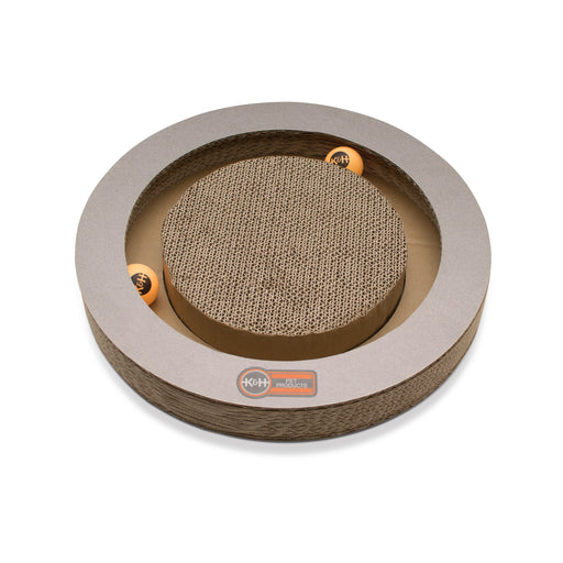 Kitty Tippy Round Cardboard Toy