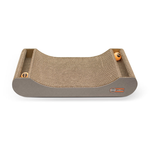 Kitty Tippy Scratch N' Track Cardboard Toy