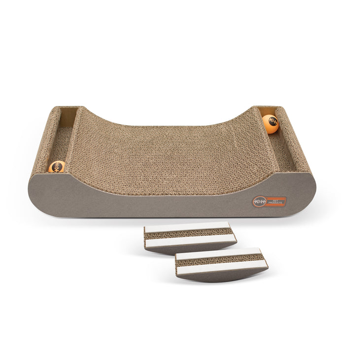 Kitty Tippy Scratch N' Track Cardboard Toy Attachment