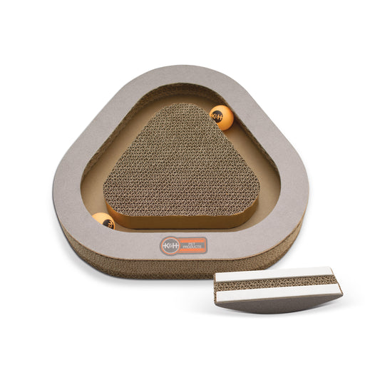 Kitty Tippy Triangle Cardboard Toy Attachment