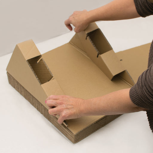 Scratch, Ramp And Track Cardboard Toy A1