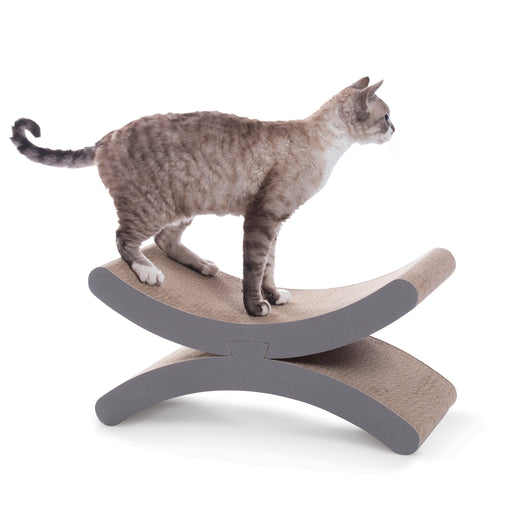 Crescent Moon Kitty Scratcher