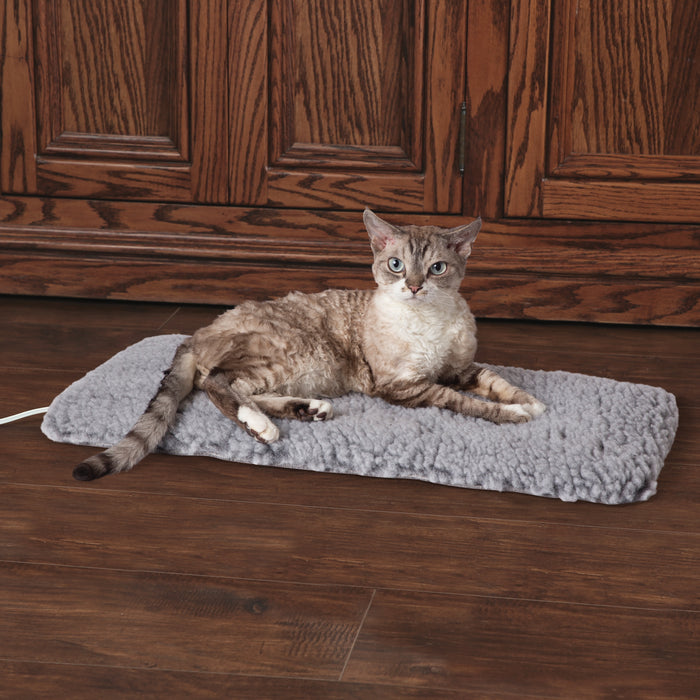 K&H Thermo-Plush Pad - Gray, Small, Cat