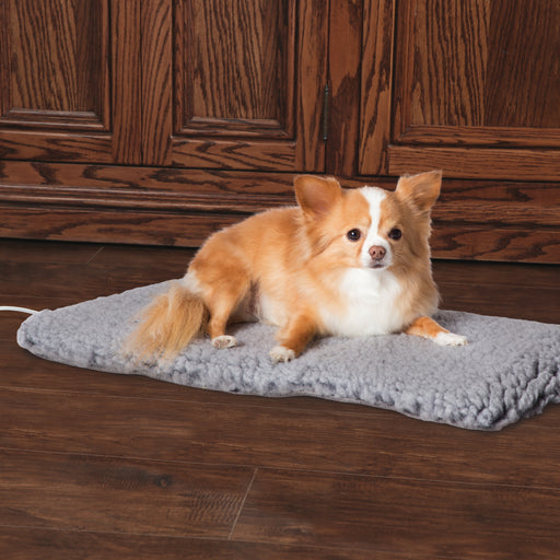 K&H Thermo-Plush Pad - Gray, Small, Dog