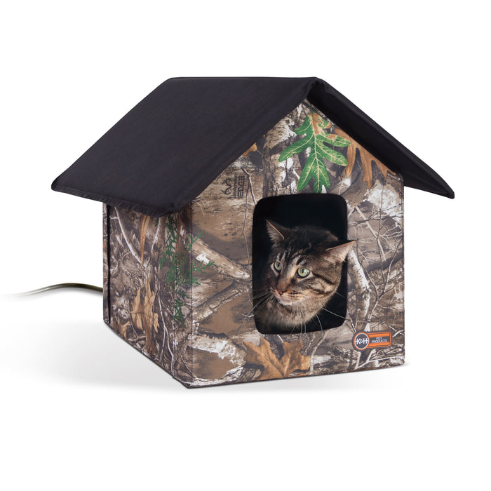 Thermo Outdoor Kitty House Heated Unheated K H Pet Products