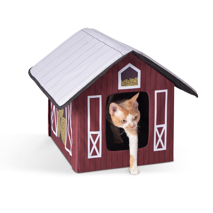 Outdoor Kitty House Barn Design