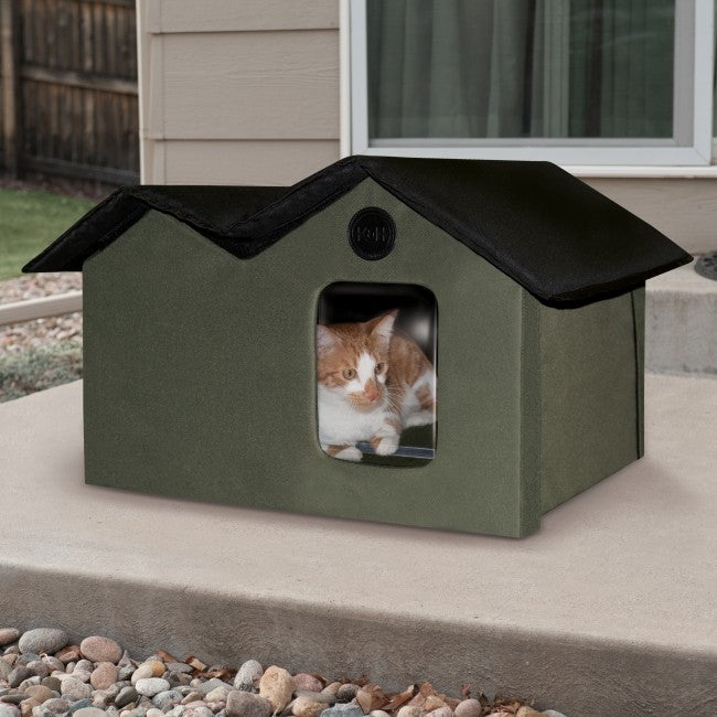 Outdoor Kitty House Extra-Wide (Unheated)