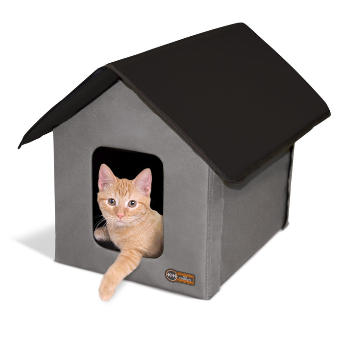 Thermo Outdoor Kitty House - (Heated & Unheated)