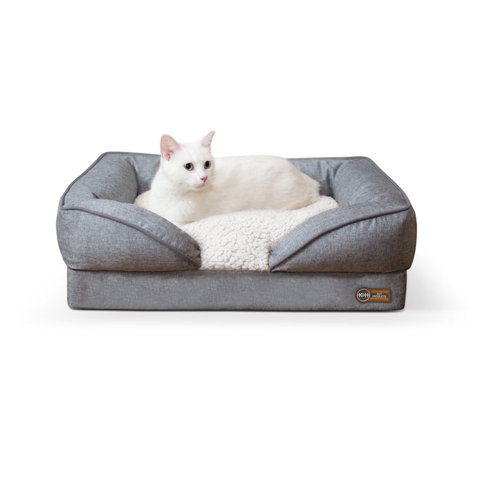 Pillow-Top Orthopedic Lounger Small Cat