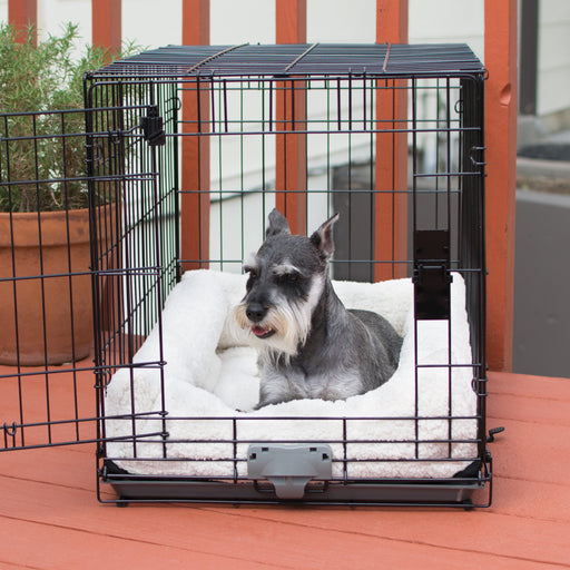 Deluxe Bolster Crate Pad Small
