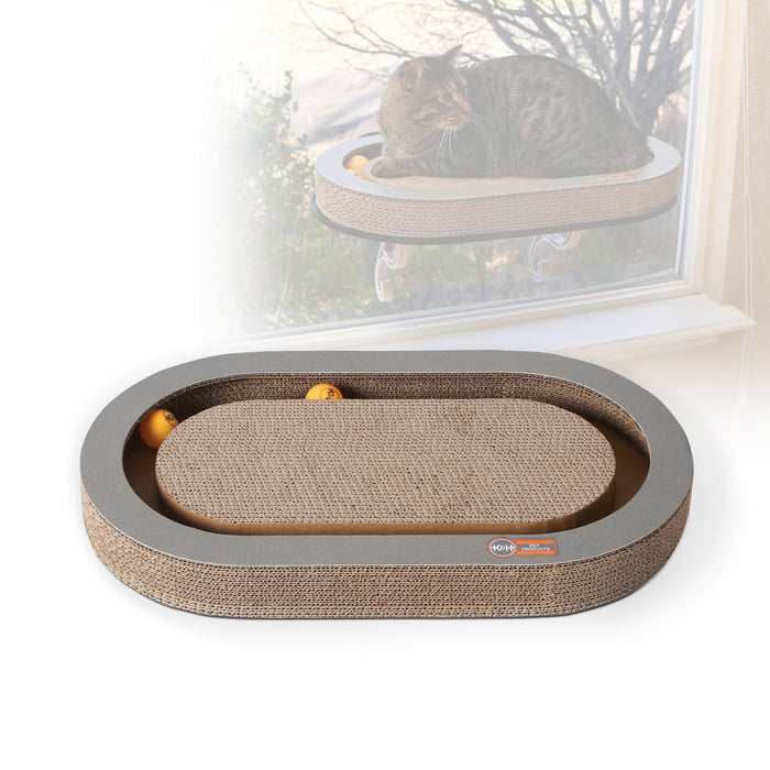 Universal Mount Kitty Sill With Cardboard Track™ - Refill