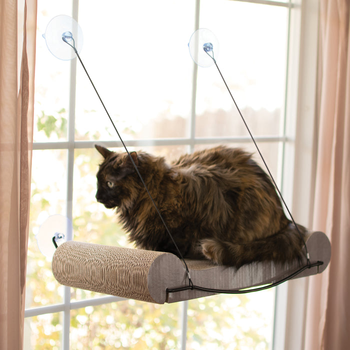EZ Mount Scratcher Kitty Sill